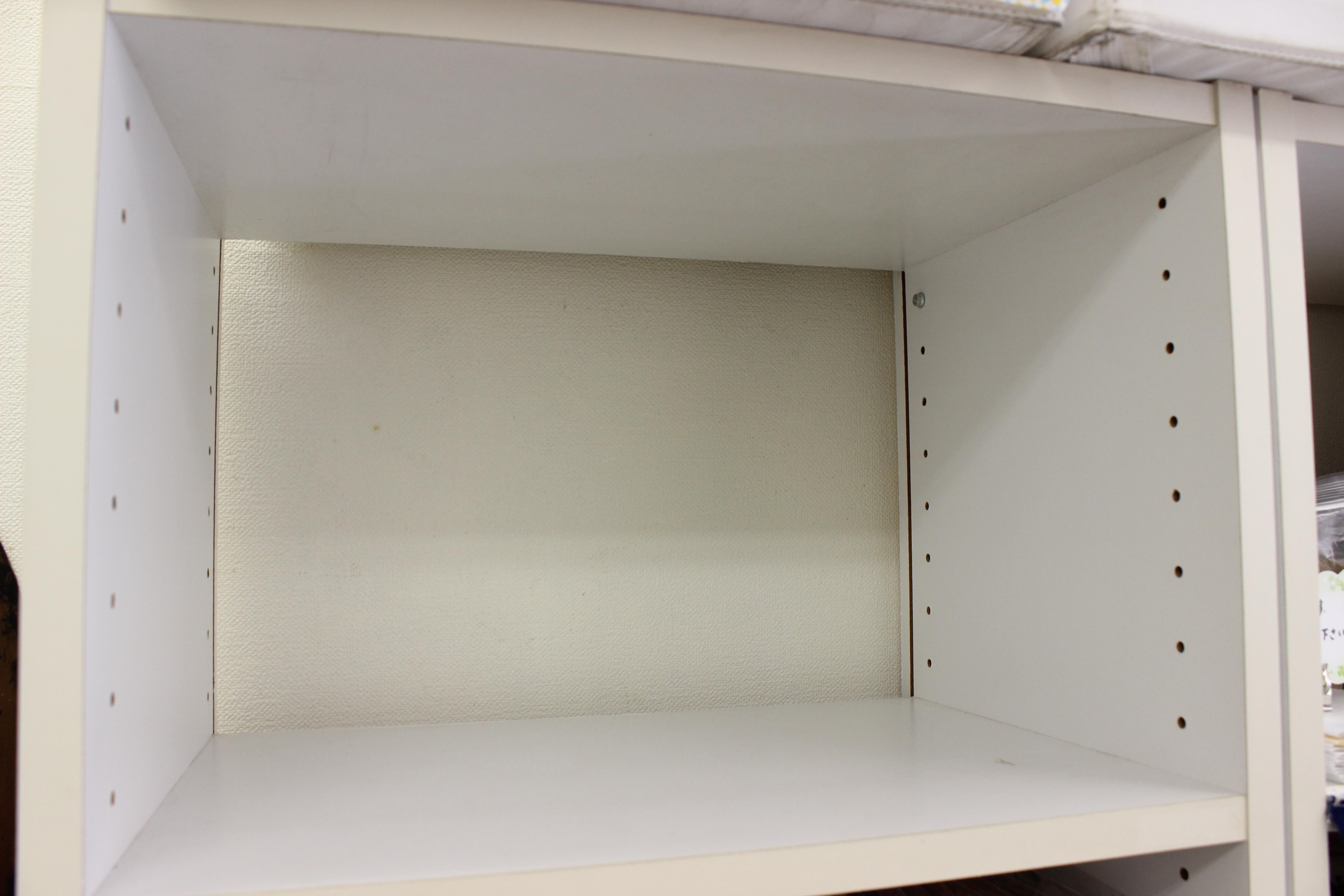 こちらのBOXに商品を並べます